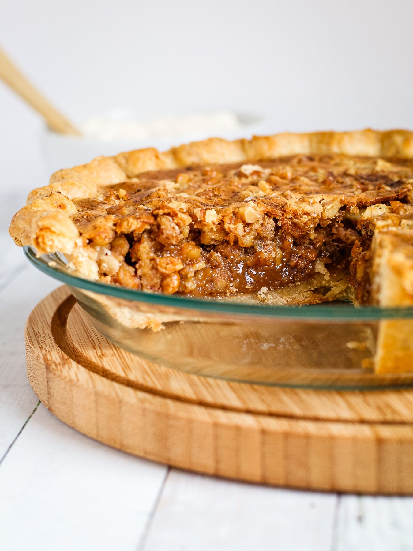 This Honey Walnut Pie Starts With Perfectly Toasted Walnuts