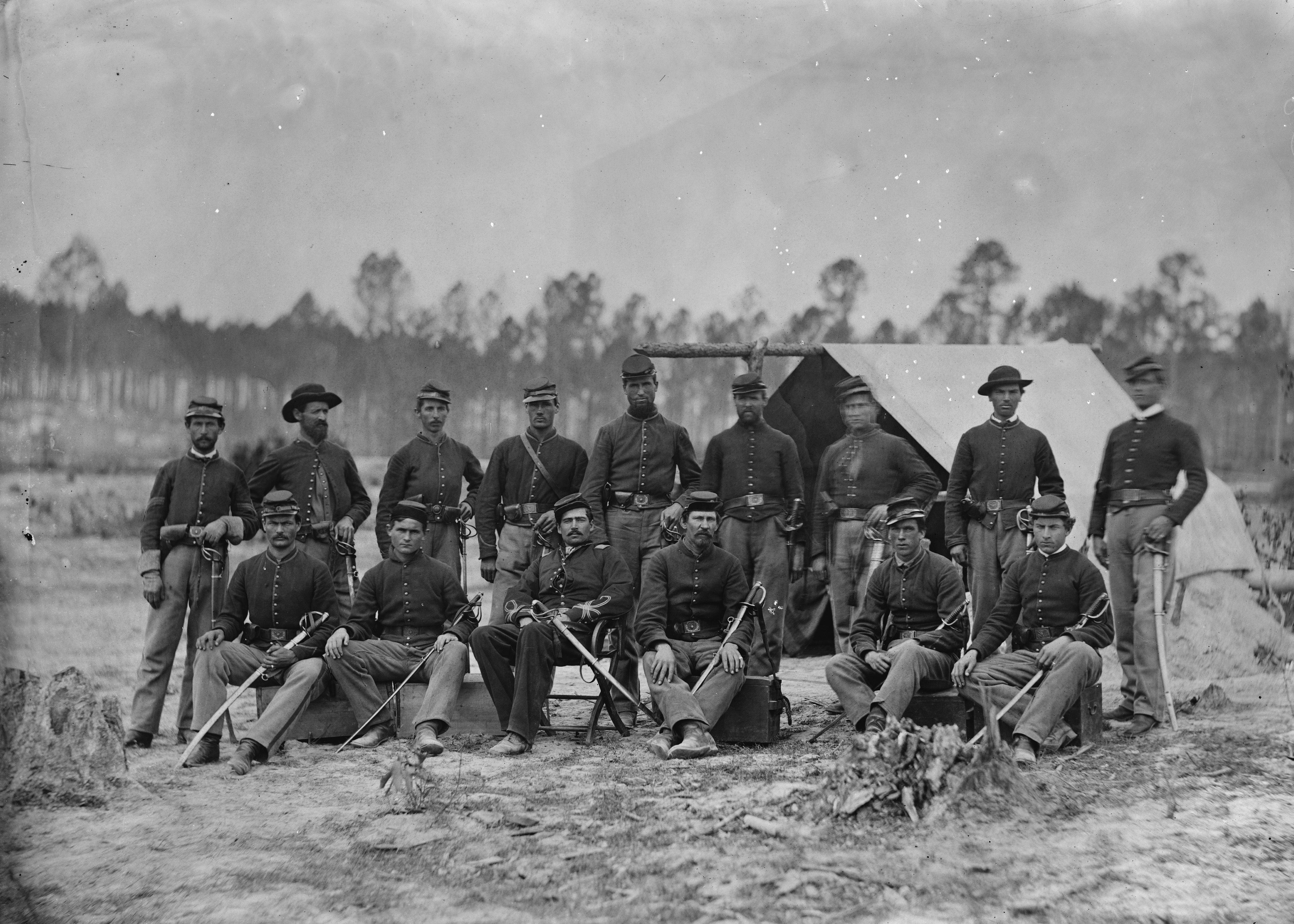 Civil War: Petersburg. /Nunion ArmyS Fort Sedgwick During
