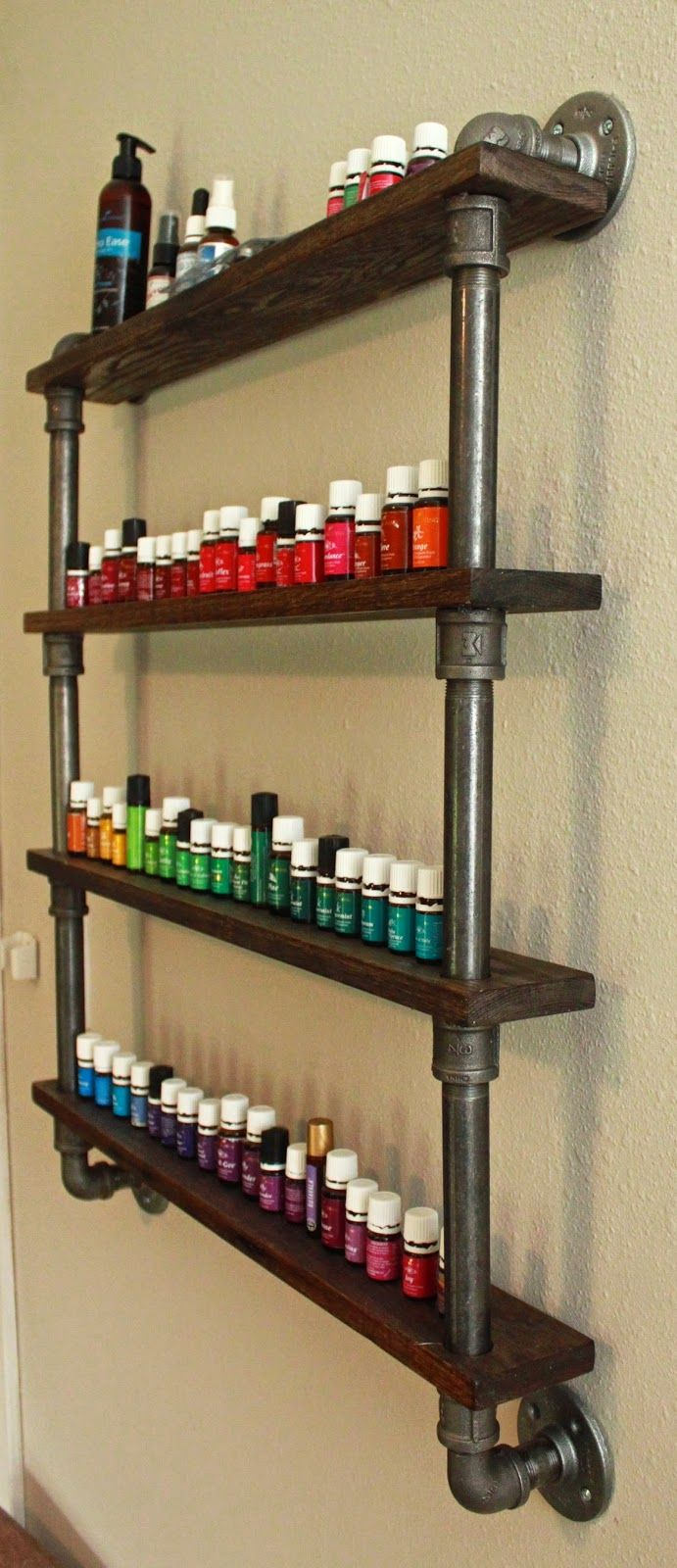 A Young Wife\'s Tale: DIY Essential Oil Shelf | DIY | Pinterest ...