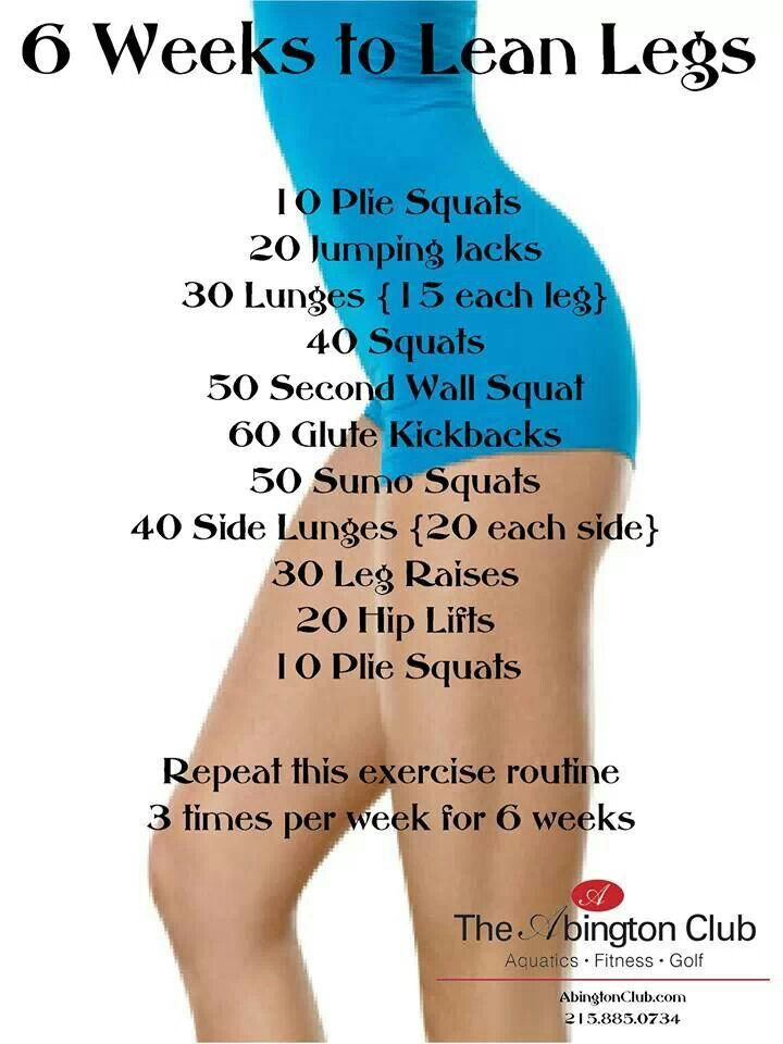 Leg workout                                                                                                                                                     More
