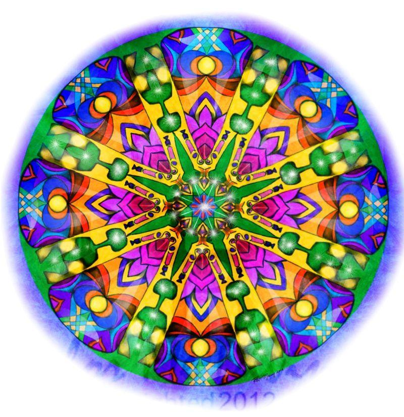 Mandalas color me divinas mantras mandalas mandalas - Colores para mandalas ...
