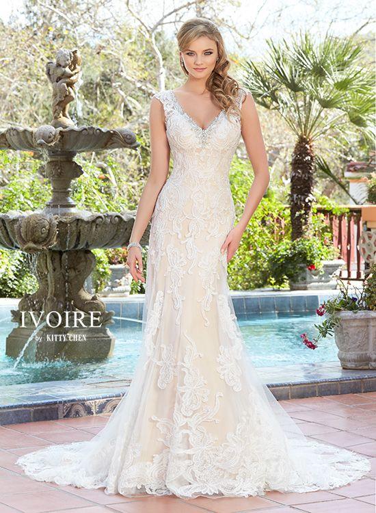 Wedding Dresses   Bridal Gowns   KittyChen Couture - Priscilla ...