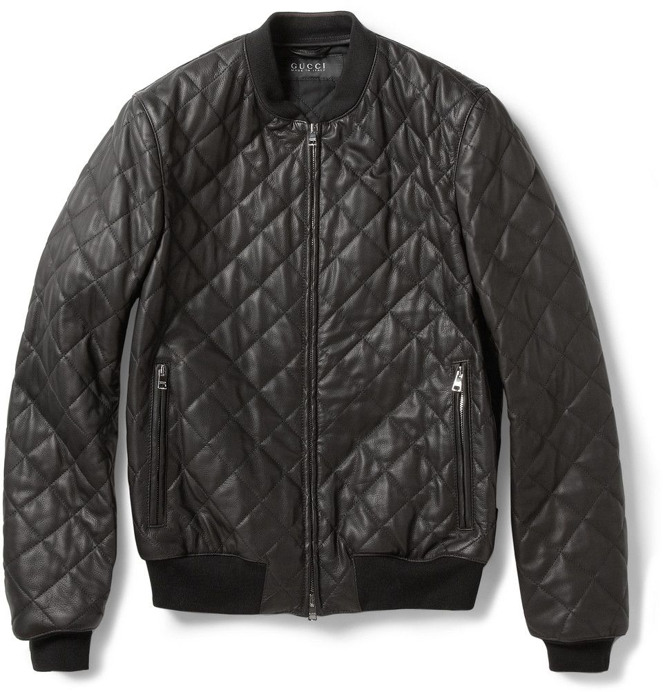 884f2df9c Amp up your look in this @gucci black bomber jacket @MRPORTERLIVE ...