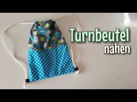 Turnbeutel - Nähanleitung - OHNE Schnittmuster - Anfänger ...