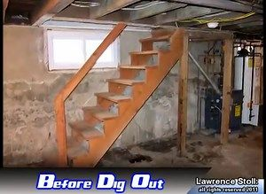 Basement Dig Out Lowering Your Basement Garage Guest House Basement Waterproofing Basement