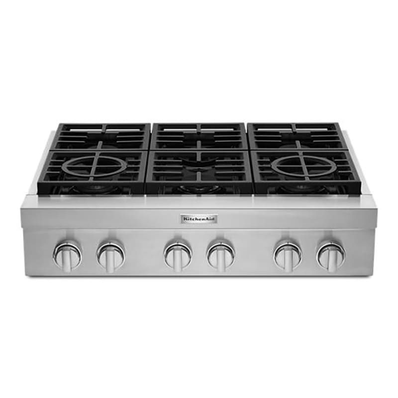 Kitchenaid Kcgc506jss Cooktop Stainless Steel Pcrichard Com Kcgc506jss In 2020 Gas Cooktop Cooktop Kitchen Aid