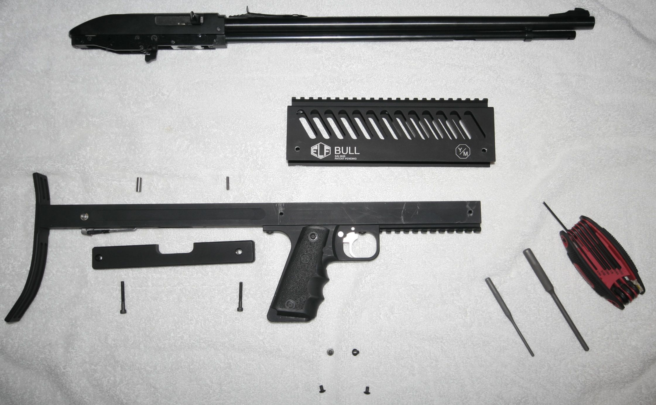 Elftmann disassembled