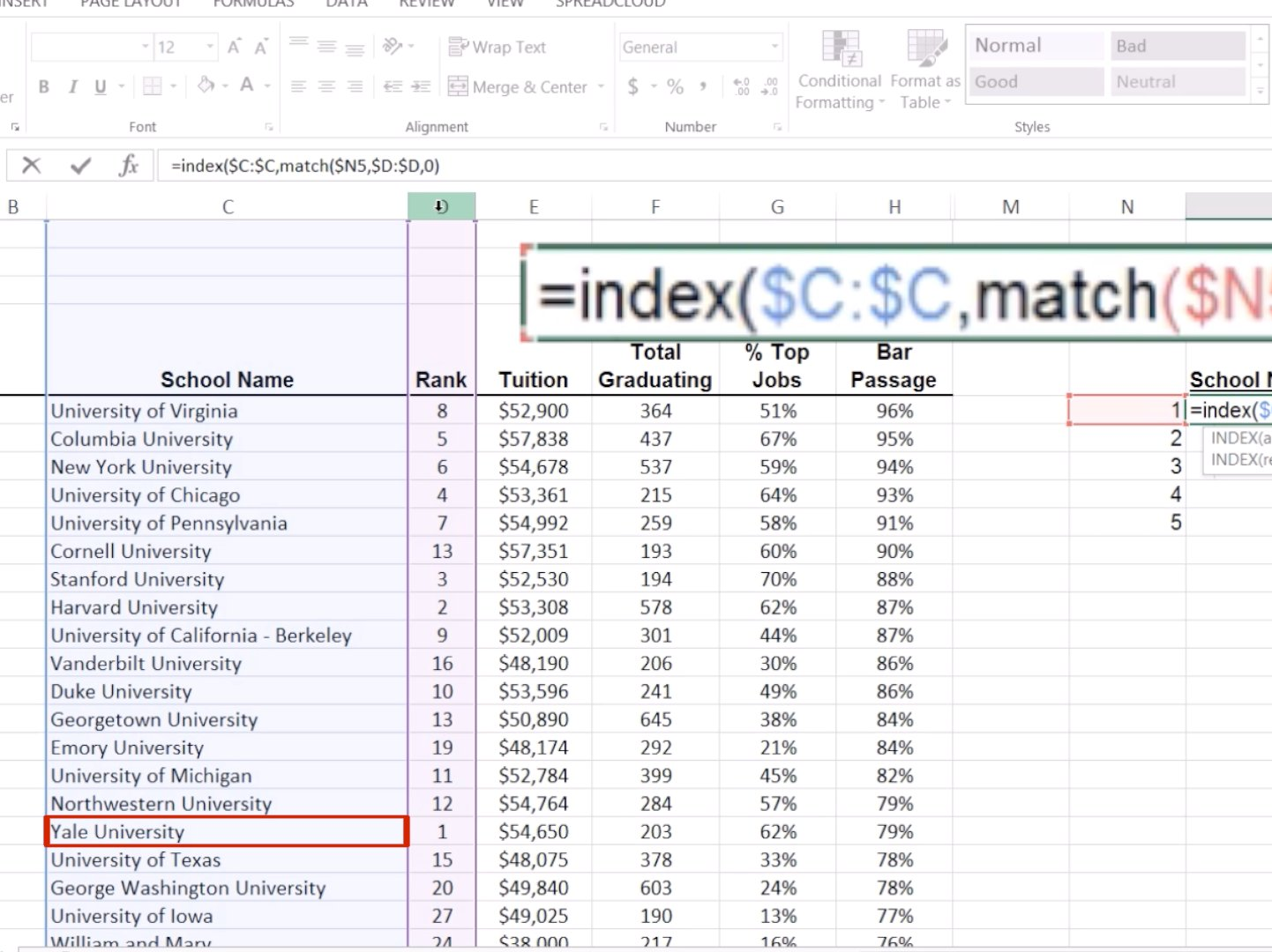 This Is What Separates The Excel Masters From The Wannabes