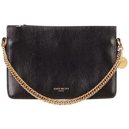 2dca9a1e51 Givenchy Black Triple Leather Crossbody Bag as seen on Meghan Markle ...