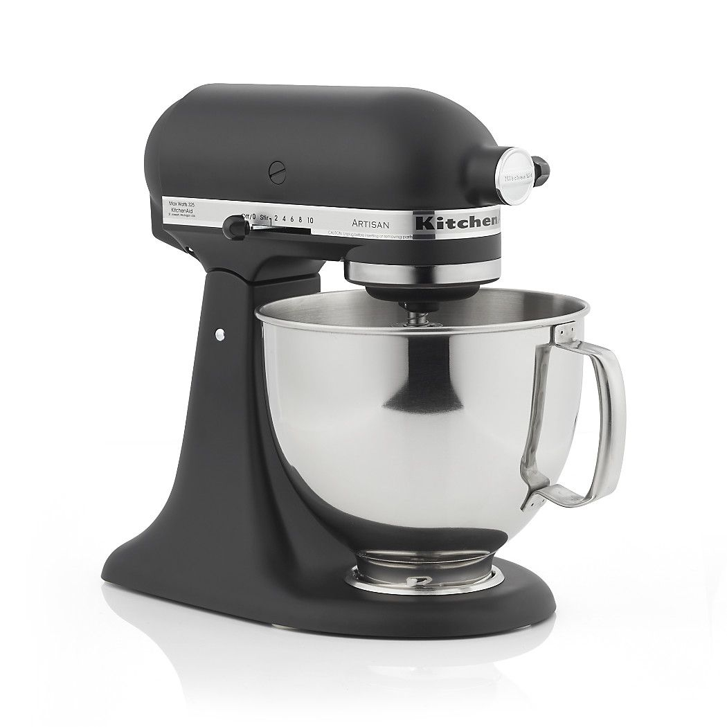 Kitchenaid Ksm150psbm Matte Black Stand Mi Modern Updates The Clic Mixer A Favorite Of Home And Professional