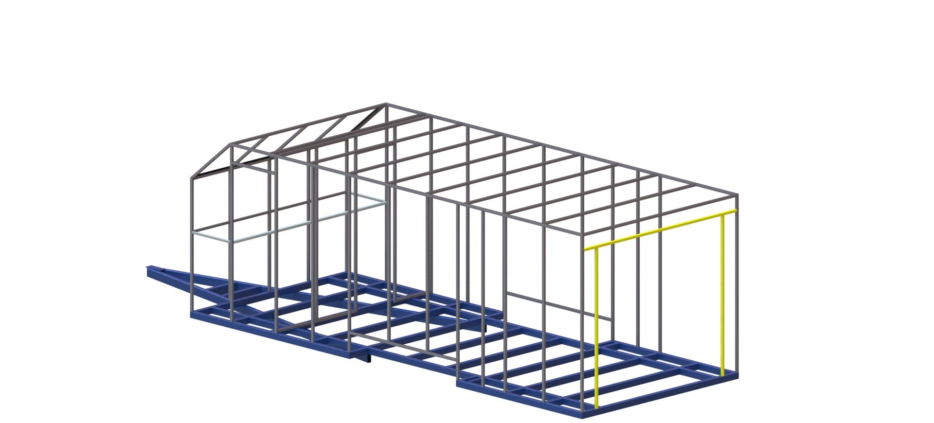 6 metre x 2400 enclosed trailer 19 car trailer for How to build a trailer plans free