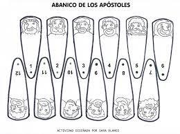 Abanico De 12 Apostoles Buscar Con Google Actividades De La