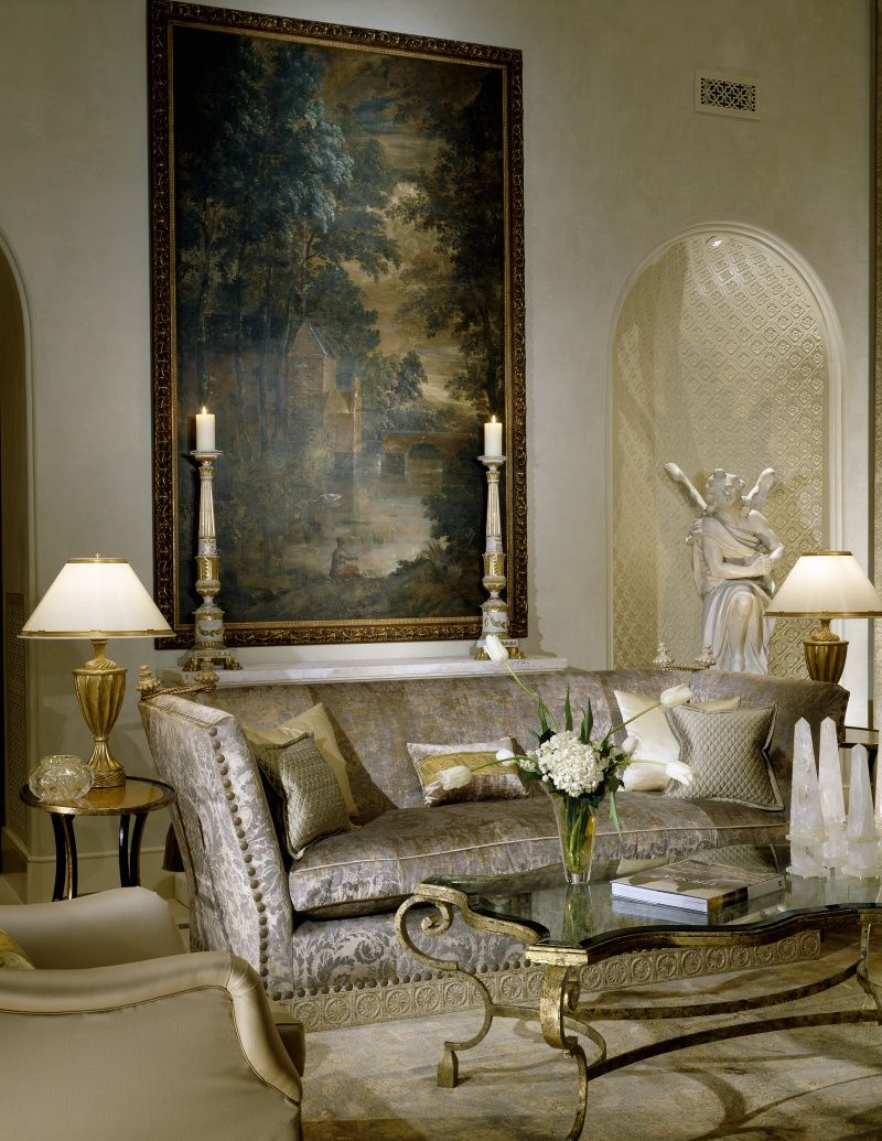 Gorgeous Home Interiors | Shabby Castle Chic Rich And Gorgeous Home Decor Slovack