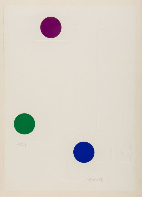 Victor Vasarely, Composition pour Jean-Clarence Lambert, 1967