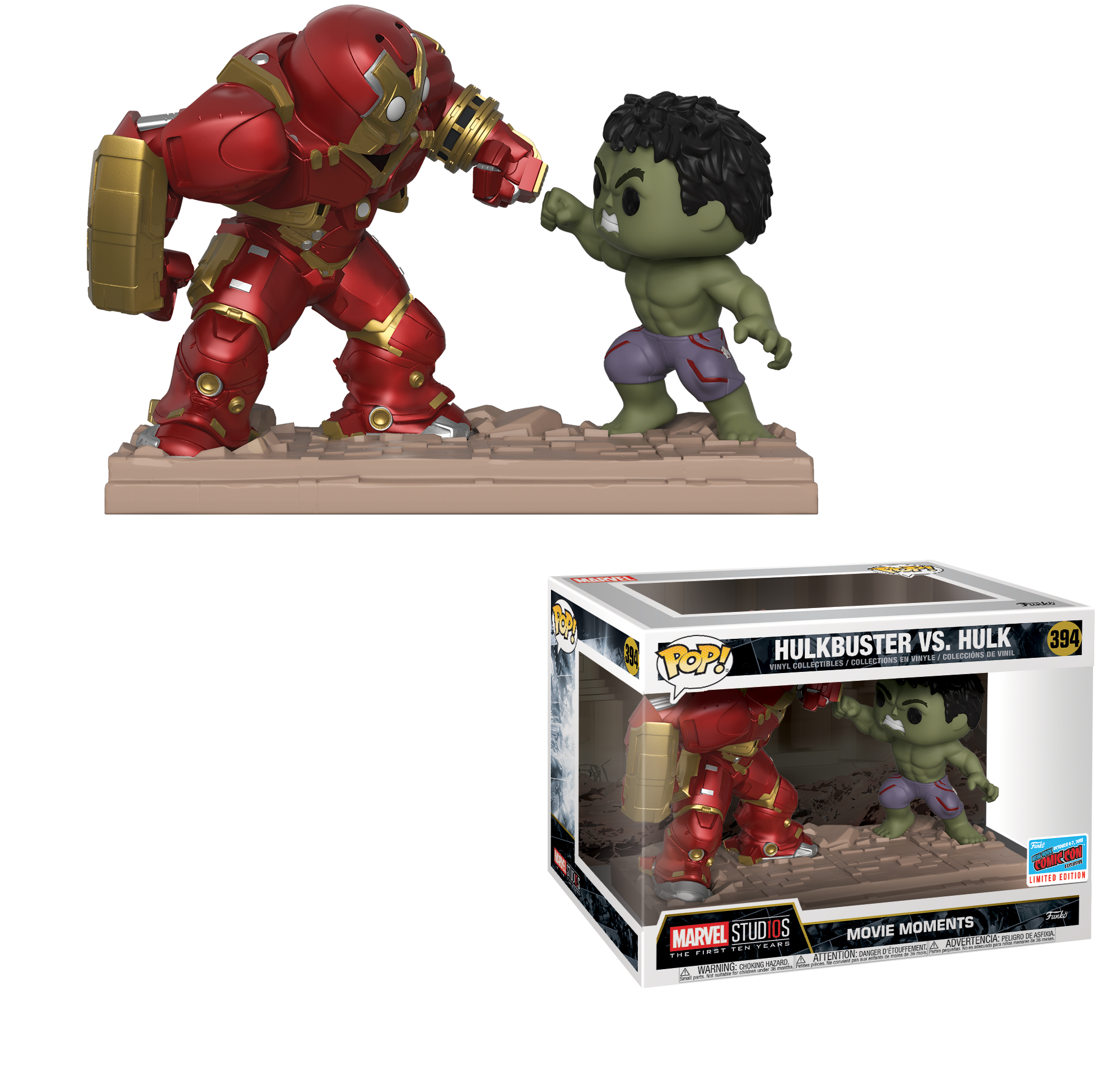 Funko S Marvel New York Comic Con 2018 Exclusives Revealed Funko Pop Iron Man Funko Pop Marvel Hulk Vs Hulkbuster