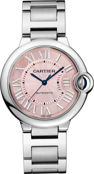 Ballon Bleu de Cartier watch 36 mm, Steel.