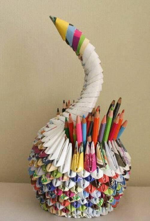 Newspaper Craft Ideas For Kids Part - 23: Pinterest