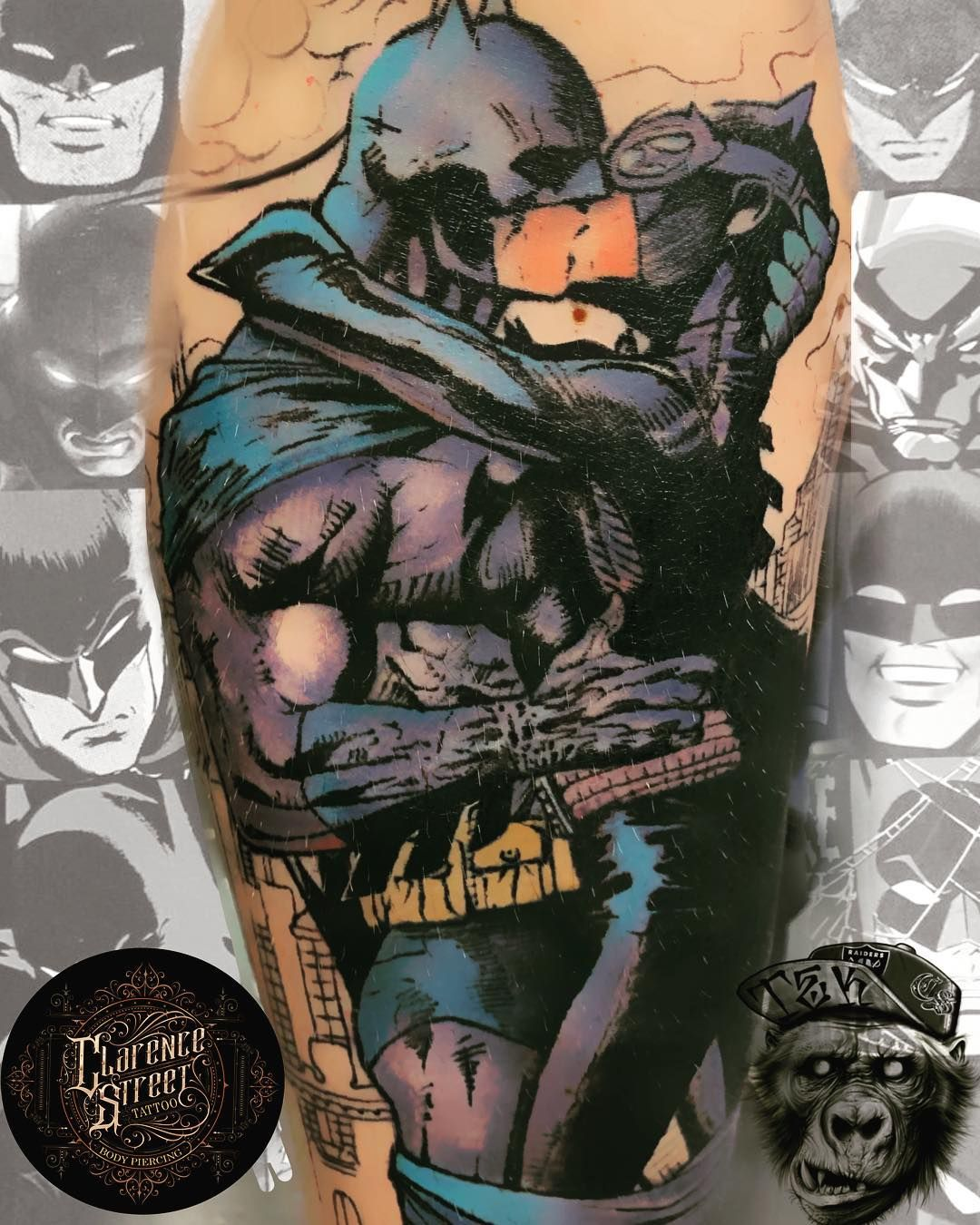 0acfd9bd3 Watch the Best YouTube Videos Online - Healed Batman sleeve to be  continued. Done with