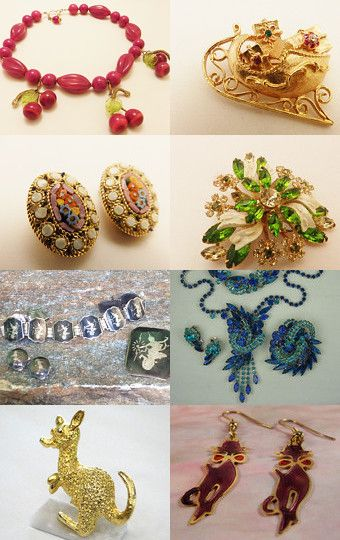 VJT SOTW The jewelry Cabinet by Randy and Lynn on Etsy--Pinned with TreasuryPin.com