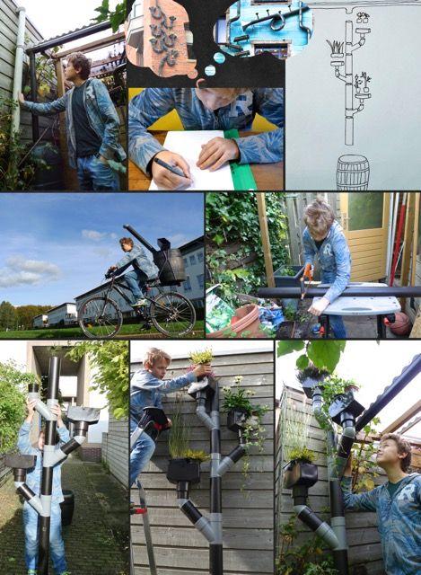 DIY: de wonky regenpijp | OneWorld.nl