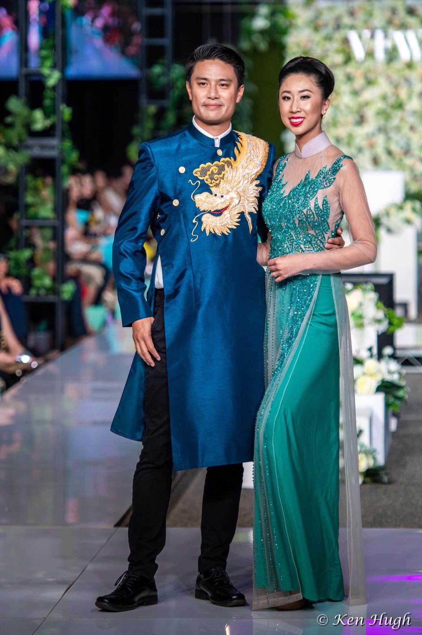 Trang Bui Wedding Ao Dai Collection Traditional dresses