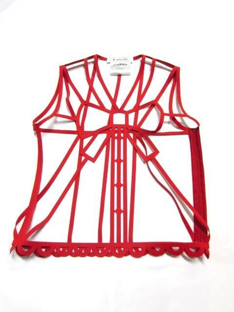 Interesting: ANREALAGE SS13 / Bone frame ribbon tops
