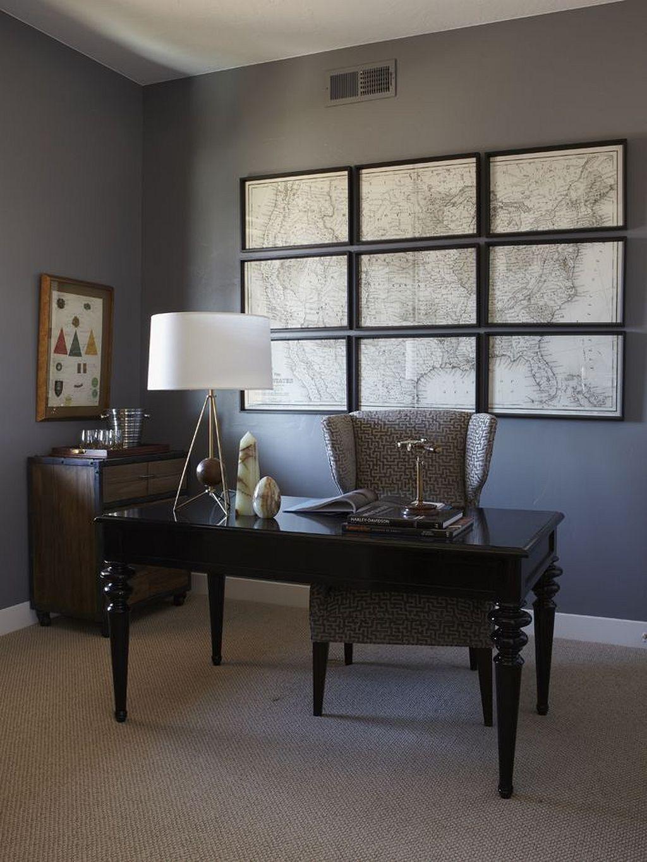 50+ Dark Office Interior Design Ideas