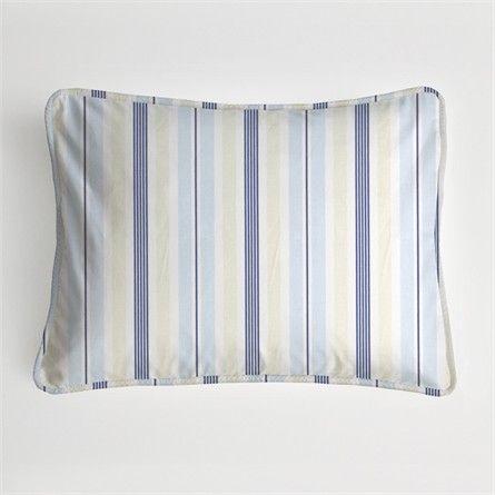 Regal Stripe Sky Boudoir Pillow