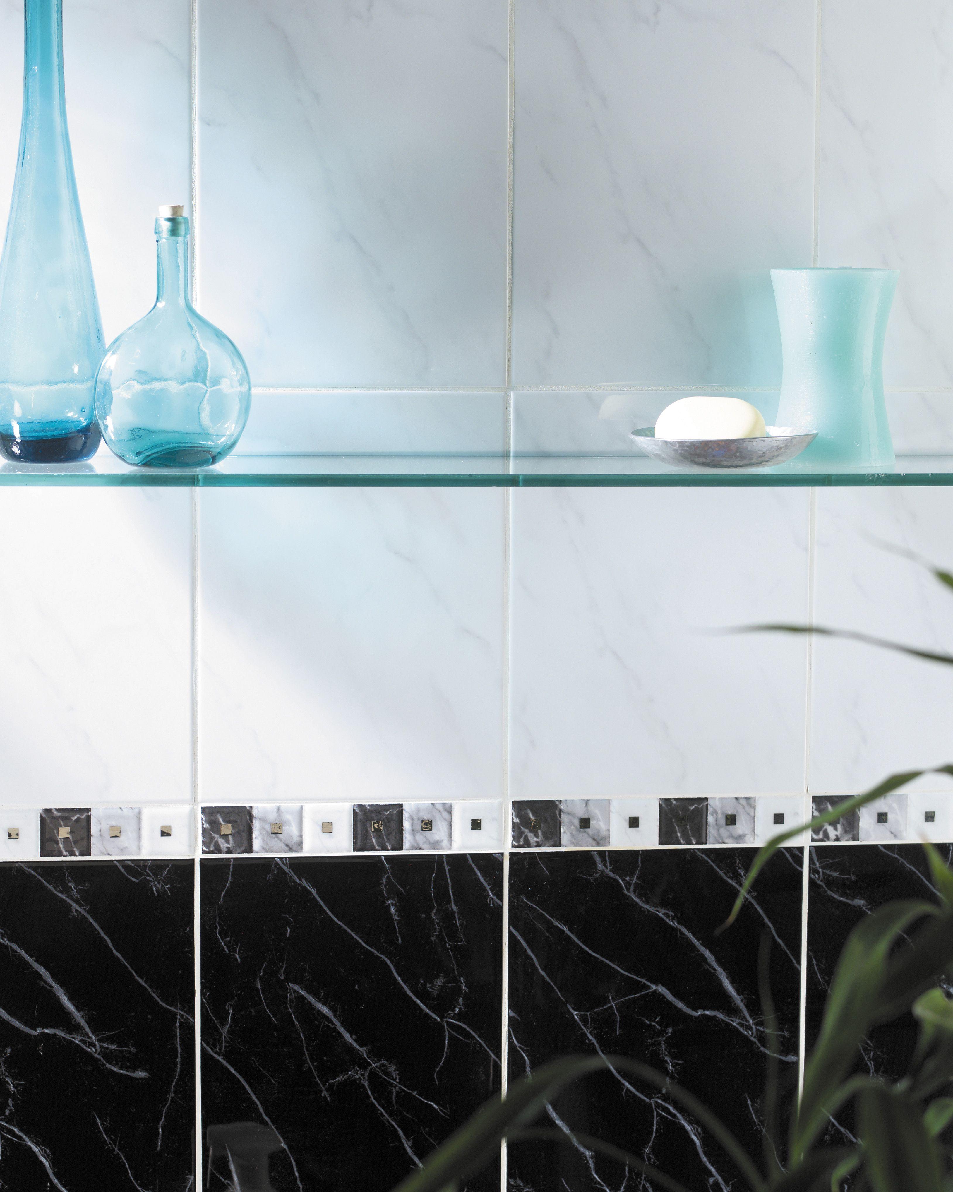 Carrara Black tiles by House of British Ceramic Tile | Marvelous ...