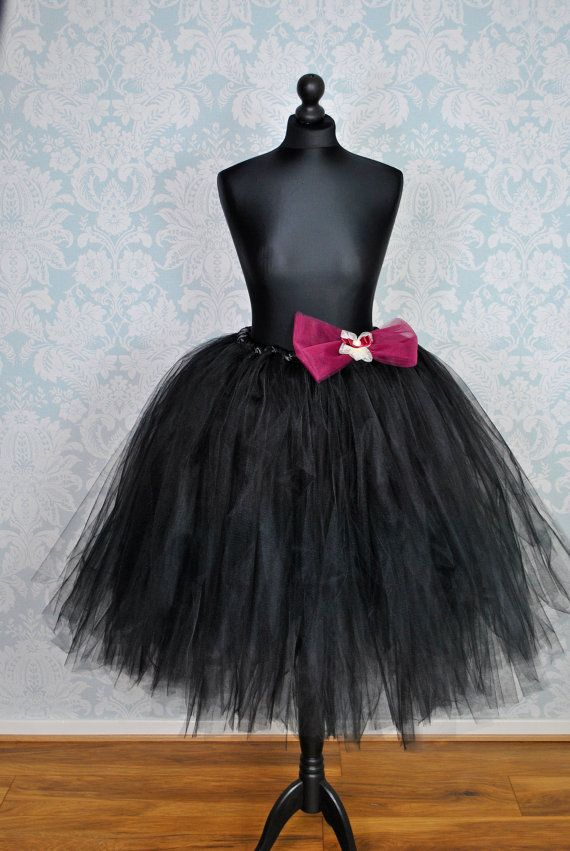 Plus Size Evening Tutu Skirt Knee Length Woman Tulle By TutuShopUK Detachable SkirtTulle
