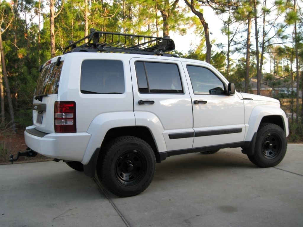 2012 jeep liberty lifted white WapperCar jeep2012