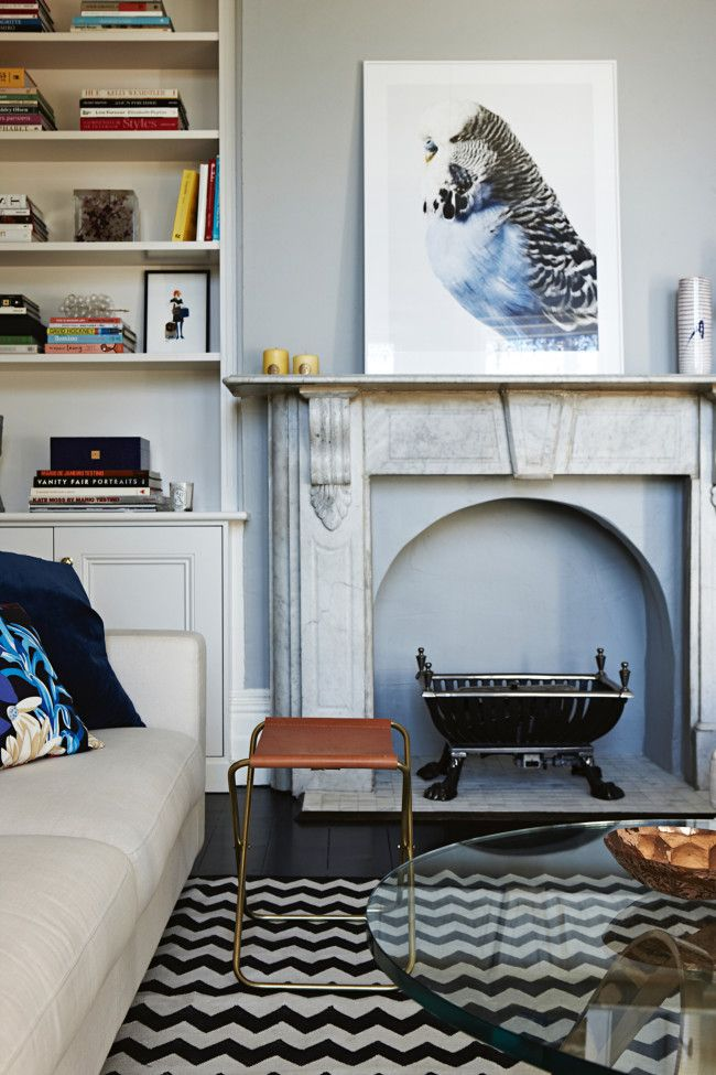 Inside An Australian Home With Dark Details | Victorian Terrace, Vogue  Living And Victorian