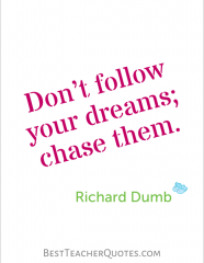 Dumb Inspirational Quotes Teacher Inspirational Quotes Richard Dumb  Teacher Inspiration .