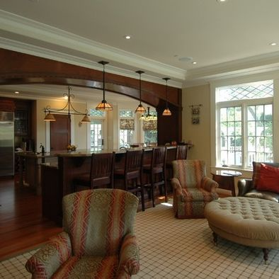 Best 25 Half Wall Kitchen Ideas On Pinterest Kitchen Open To Living Room Half Walls And Pass