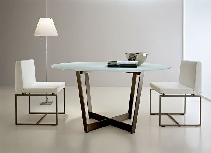 modern round dining room table. Cool And Elegant Dining Table With Glass Top Marvellous Room Home  Accessories White Chair 55 Tables Original Bases DigsDigs