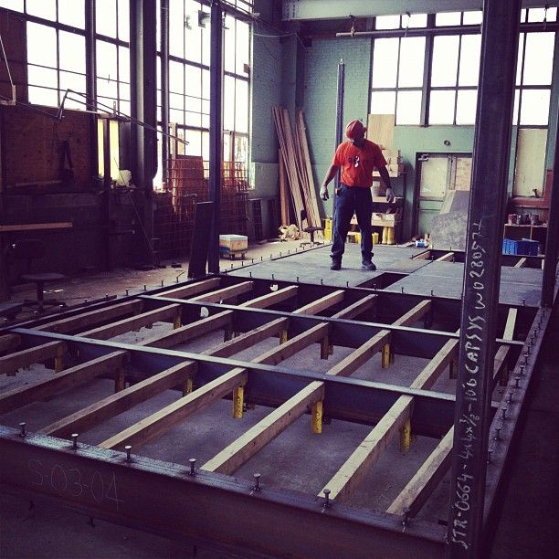 Capsys modular construction factory at Brooklyn Navy Yard