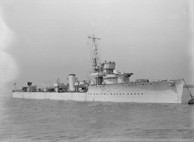 * HMS Velox * 1918. Contratorpedeiro da Royal Navy.