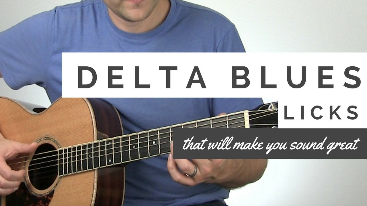 Delta blues licks that will make you sound awesome