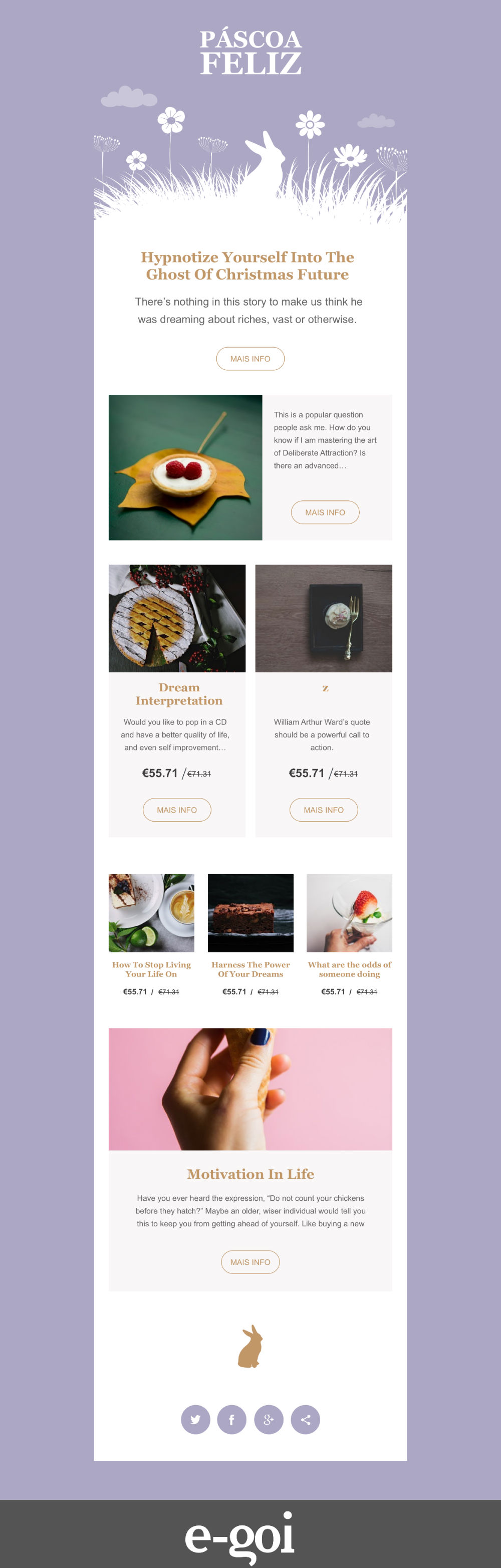 Template De Email Marketing Gratuito Simples E Profissional - Free email advertisement template