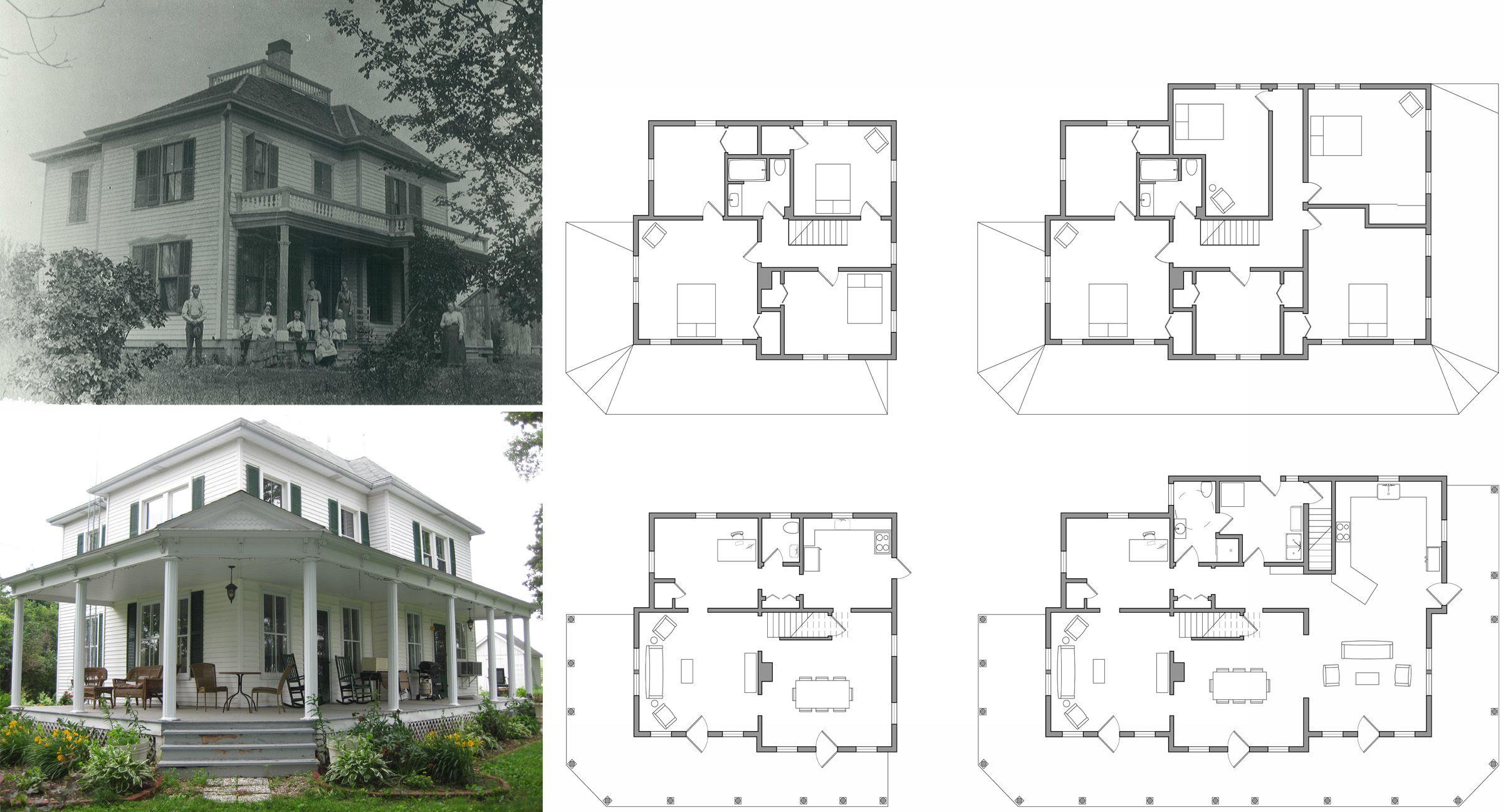 Marvelous Old Farmhouse Floor Plans | Farm House Plan Home Design Ideas