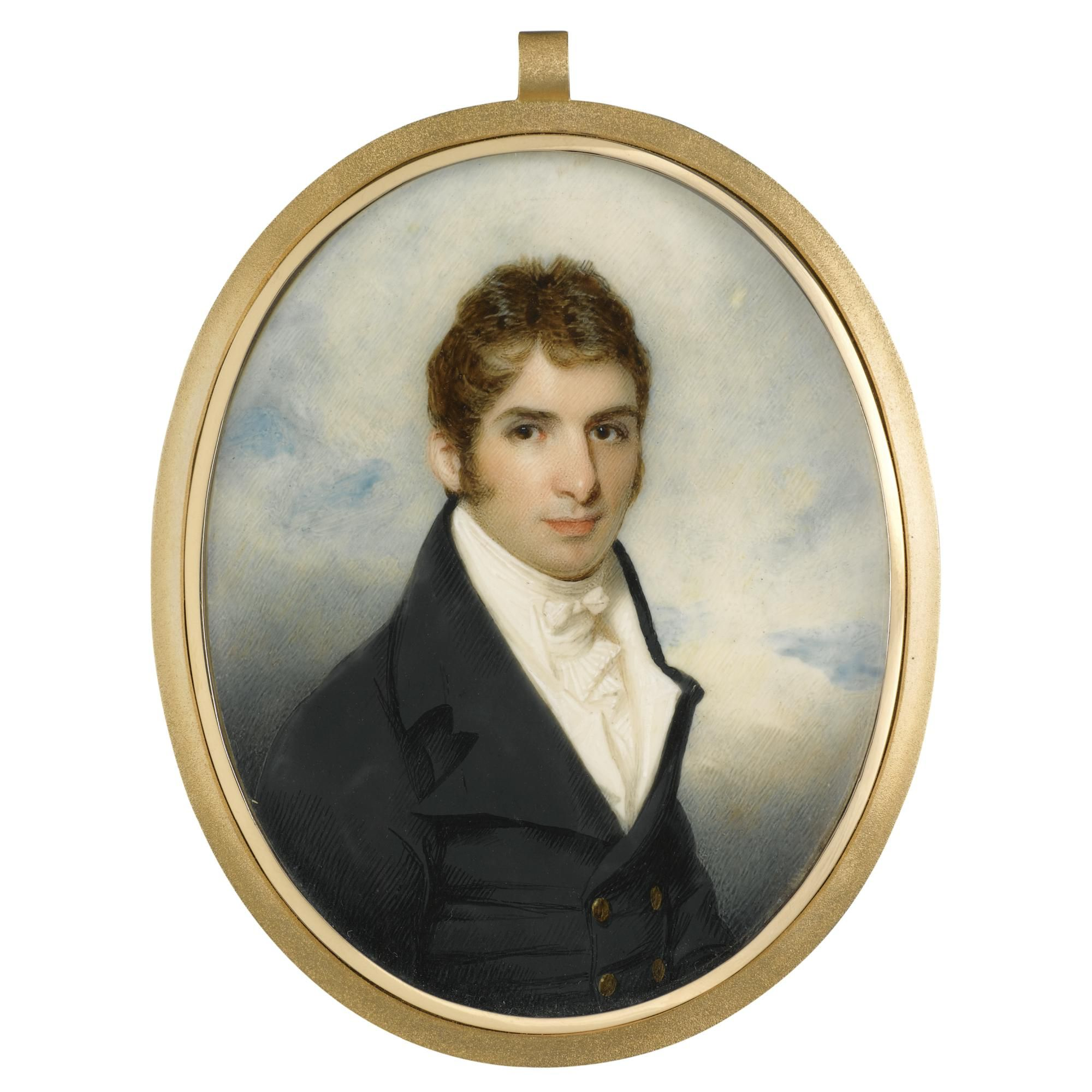 George Chinnery, Portrait of a Gentleman, ca.1805