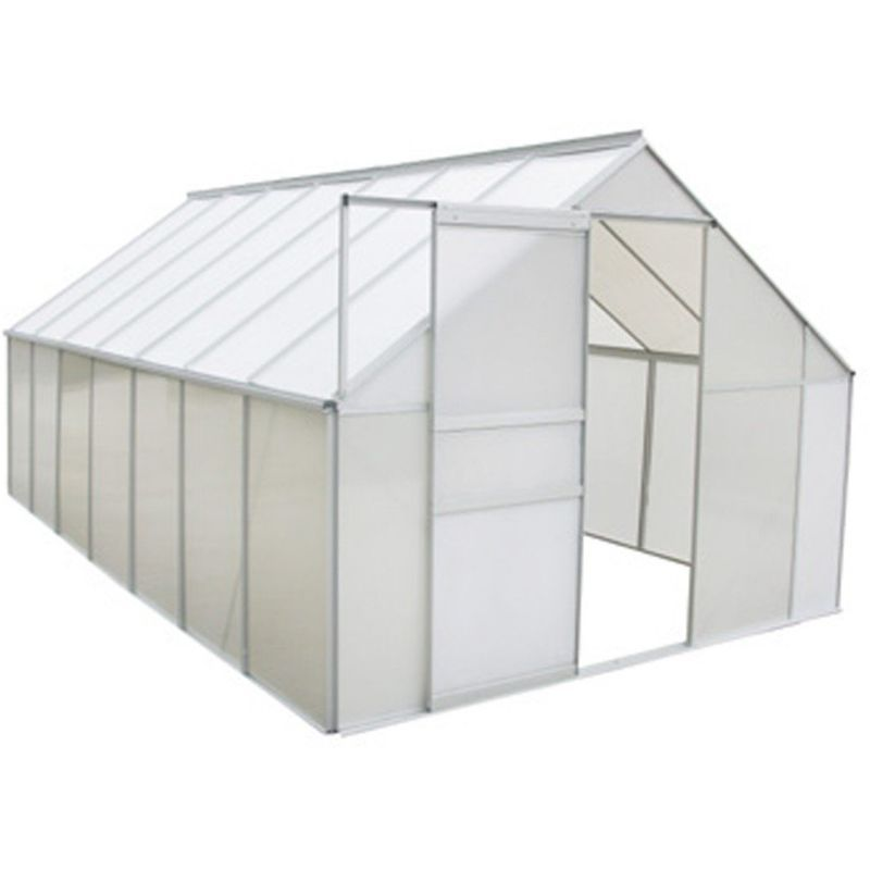 Serre De Jardin Aluminium Et Polycarbonate 10 75 M 430 250 Cm 1602004 Home Decor Decor Home