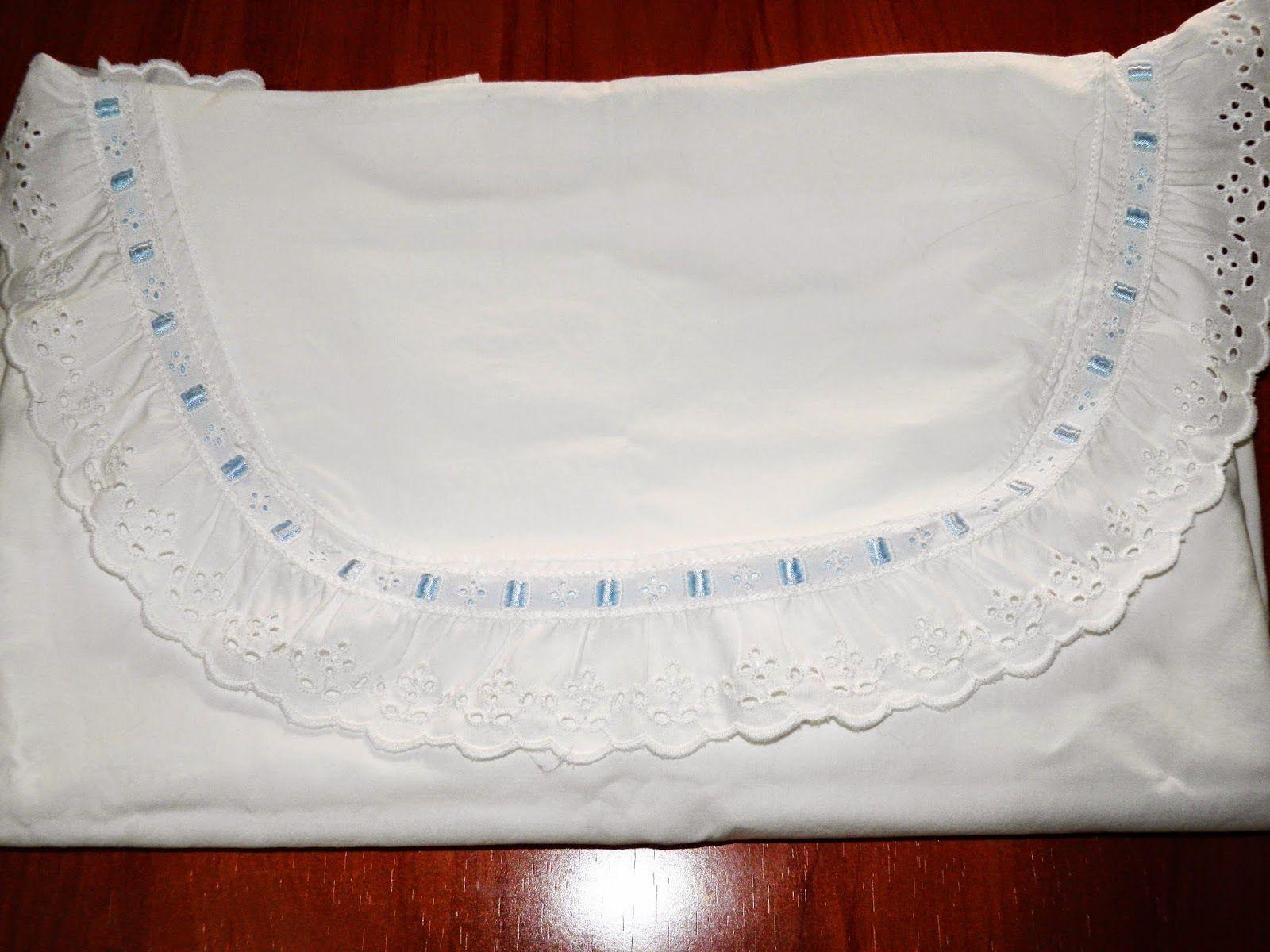 Mucha gente me pide como hacer unas sábanas para cunita, que medidas ...