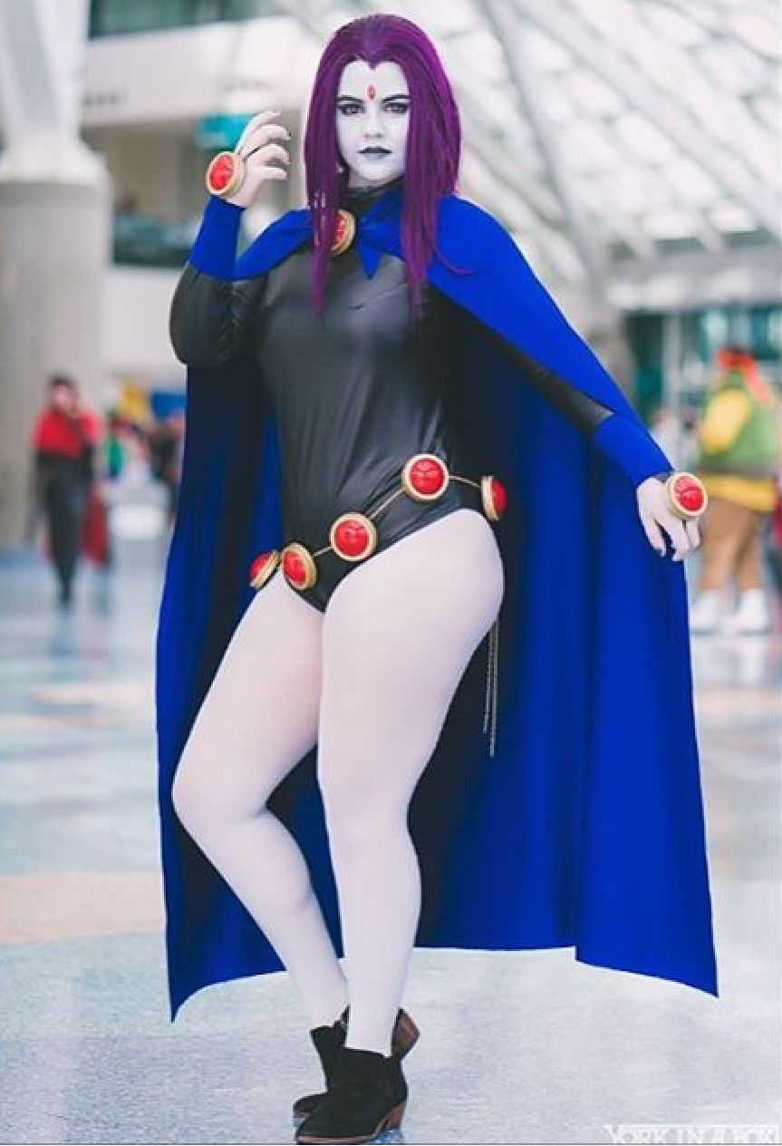Teen Titans Raven Cosplay - Full Movie-3891