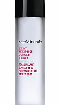 bareMinerals Waterproof Eye Makeup Remover Gently dissolve waterproof mascara and long-wearing eye makeup for perfectly clean lids and lashes with no greasy residue. This dual-action formula lifts away impurities without any tugging, pulling o http://www.comparestoreprices.co.uk/health-and-beauty/bareminerals-waterproof-eye-makeup-remover.asp