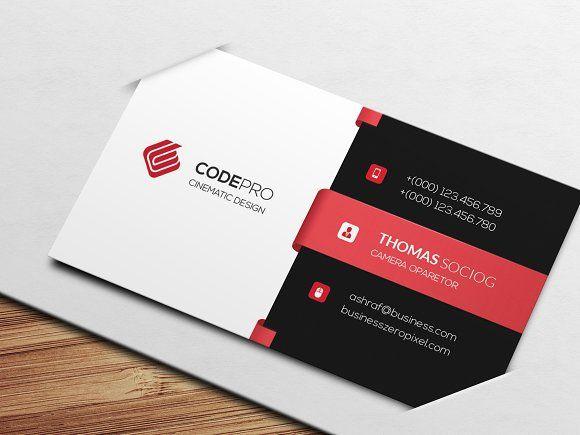 Business Card By Creative Idea On Creativemarket