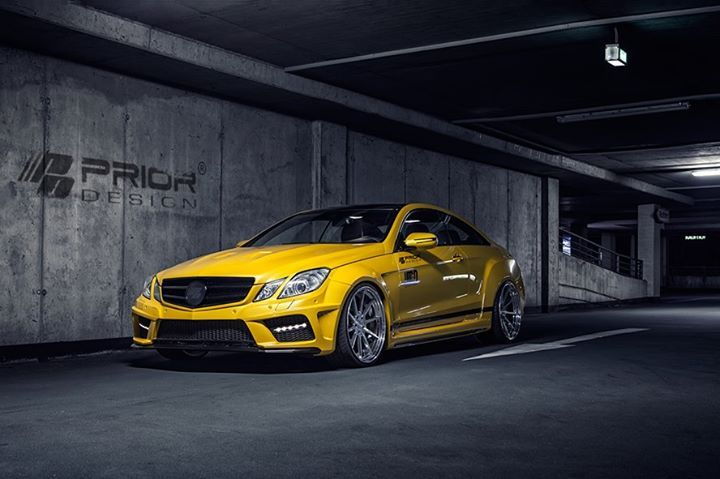 Prior Design E Class Coupe Mercedes benz cars, Benz car