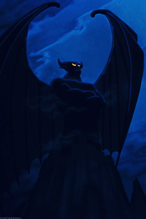 This is Chernabog, from Fantasia. No, he's not Satan, as he is often thought to be.  He is a demon, and his closest cousin is the Balrog in Lord of the Rings.
