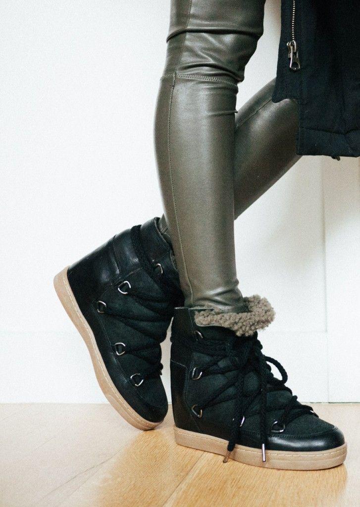 f i g t n y outfit 12 isabel marant nowles boots fashdeet pinterest isabel marant. Black Bedroom Furniture Sets. Home Design Ideas