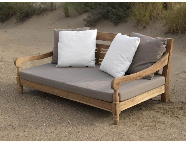 Exotan Gartensofa Kawan Xl Gartenlounge 3 Sitzer Teak Recycled Lounge Sofa Garten Gartensofa Garten Lounge